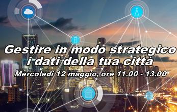 WEBINAR 2 del CICLO 2021 - Gestire in modo strategico i dati della tua città